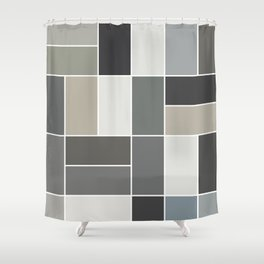 GREAT WALL Shower Curtain