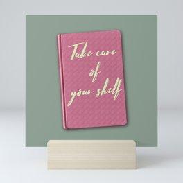 Thinking of you & your books again Mini Art Print