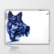 Blue Wolf Laptop & iPad Skin