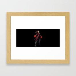 scarlet witch civil war Framed Art Print