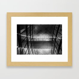 willy brandt haus Framed Art Print