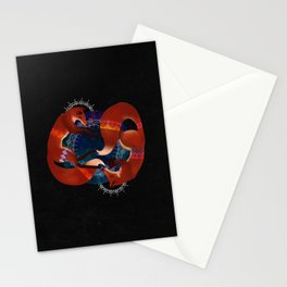 Space Foxes Stationery Cards