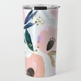 Dreamy Flora Travel Mug