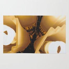 Close Up Light-Film Camera Rug