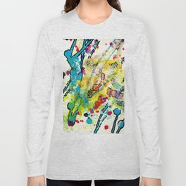 Experiments in Motion-Quad 1-Part 3 Long Sleeve T-shirt