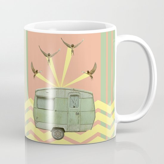 The best way to travel Coffee Mug
