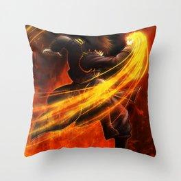 Roy Mustang Throw Pillow