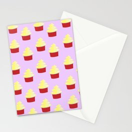 Dole Whip Pattern Stationery Cards