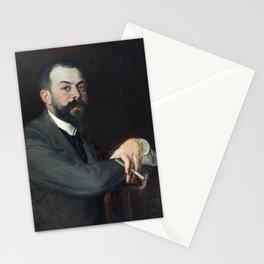 Jacques-Émile Blanche - Portrait de Monsieur Leon Pissard jeune Stationery Cards