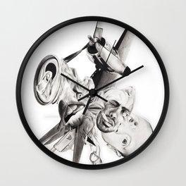 "P.O.A.M (Portrait of a Memory) ""E"" Wall Clock"