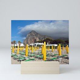 Beach of San Vito Lo Capo Mini Art Print