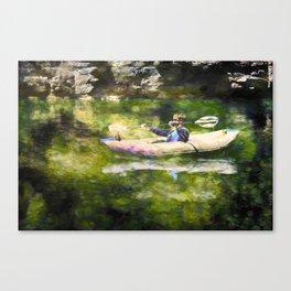 Colorado River Ducky Canvas Print