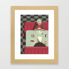 Day Trippers #11 - Diner Framed Art Print