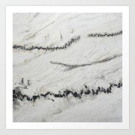 Nordic White Art Print