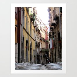 Cagliari, Sardinia Art Print