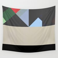 prism Wall Tapestries featuring Prism 2 by Georgiana Paraschiv