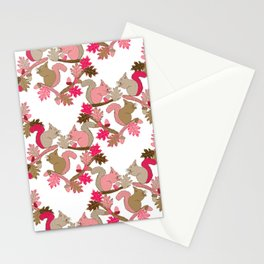 Squirrels Stationery Cards