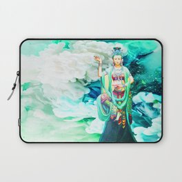 The Goddess of Mercy Laptop Sleeve