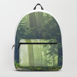 Compass in the Redwoods Backpack