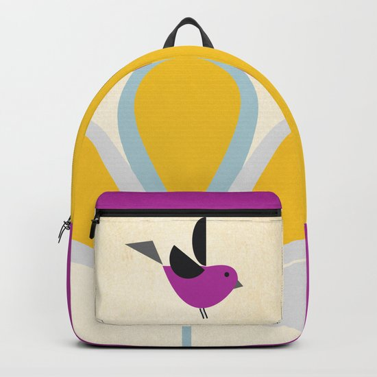 Yellow Flower #society6 #buyArt #decor Backpack