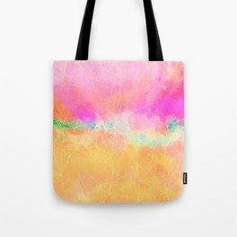 Modern Pastel Rainbow Cascade  Tote Bag