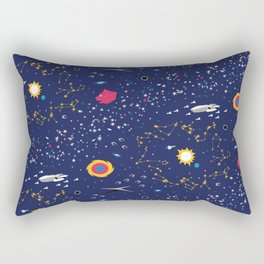 Way to Earth Rectangular Pillow