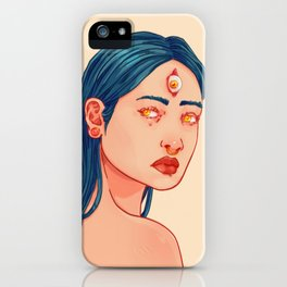 Three eyed iPhone Case