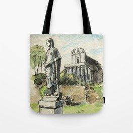 Roman Forum Tote Bag