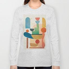 Modern Abstract Art 80 Long Sleeve T-shirt