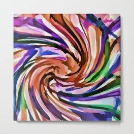 Cookie Swirls Metal Print