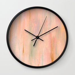 Desert Sunset in Acrylic v.3 Wall Clock