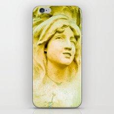 Hopeful and with great faith. iPhone & iPod Skin