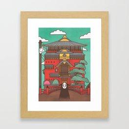 Kaonashi Framed Art Print