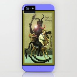 KRAMPUS 2 iPhone Case