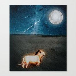 Lion's Power by GEN Z Canvas Print