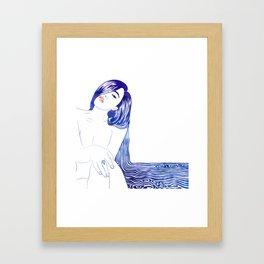 Water Nymph XL Framed Art Print