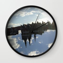Free.Dom - Upside Up I Wall Clock