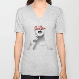 Line of thought Unisex V-Neck