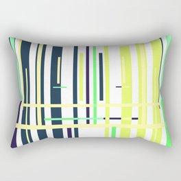 Geometric minimal art abstract Rectangular Pillow
