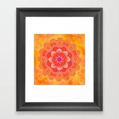 Sun Bliss Framed Art Print