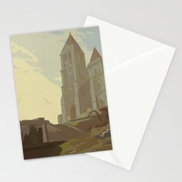 Temple of Time Stationery Cards