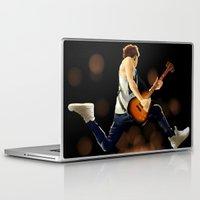 niall horan Laptop & iPad Skins featuring Niall Horan Soars by allthreeplease