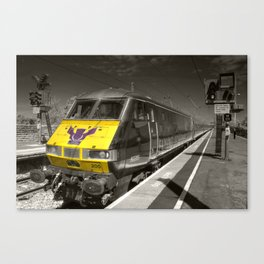 Electric Scotsman Canvas Print