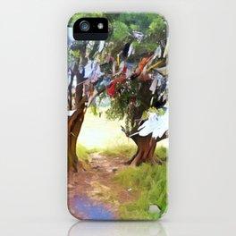 Wishing Tree on Tara Hill iPhone Case