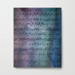 The Symphony Metal Print