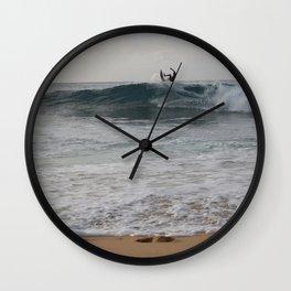 North Shore Surfer Wall Clock
