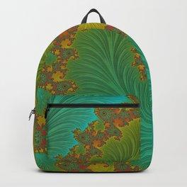 Velvet Crush - Teal and Tangerine Backpack