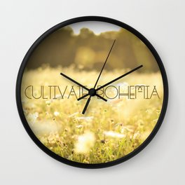 Cultivate 2 Wall Clock