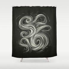 Smoke6 Shower Curtain