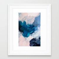 Framed Art Prints featuring Palette No. Twenty Five by Patricia Vargas